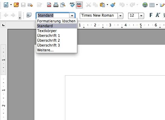 Screenshot LibreOffice