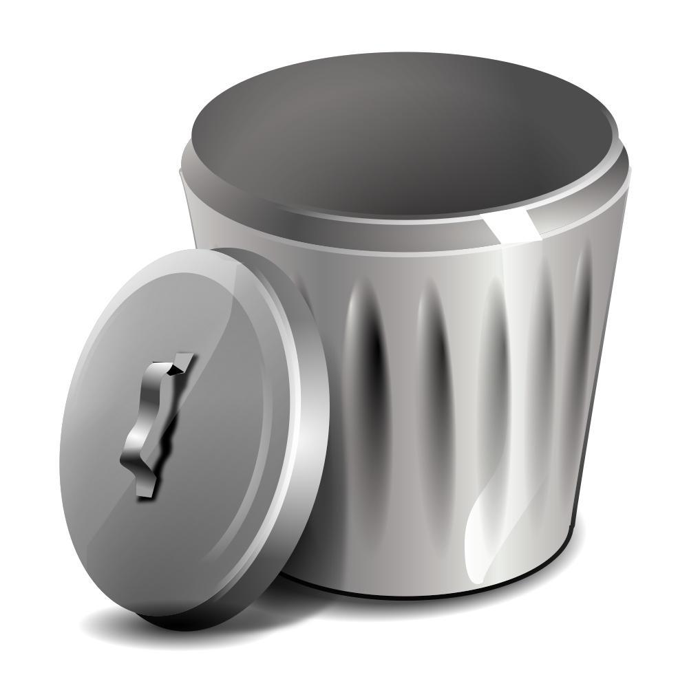 Icon Papierkorb