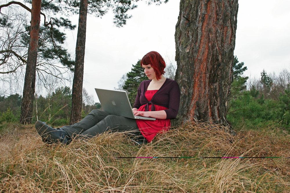 Auch im Wald kommunizieren wir mit unseren Netzwerken.