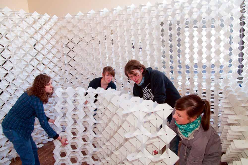Kunstprojekt der Bauhaus-Universität Weimar