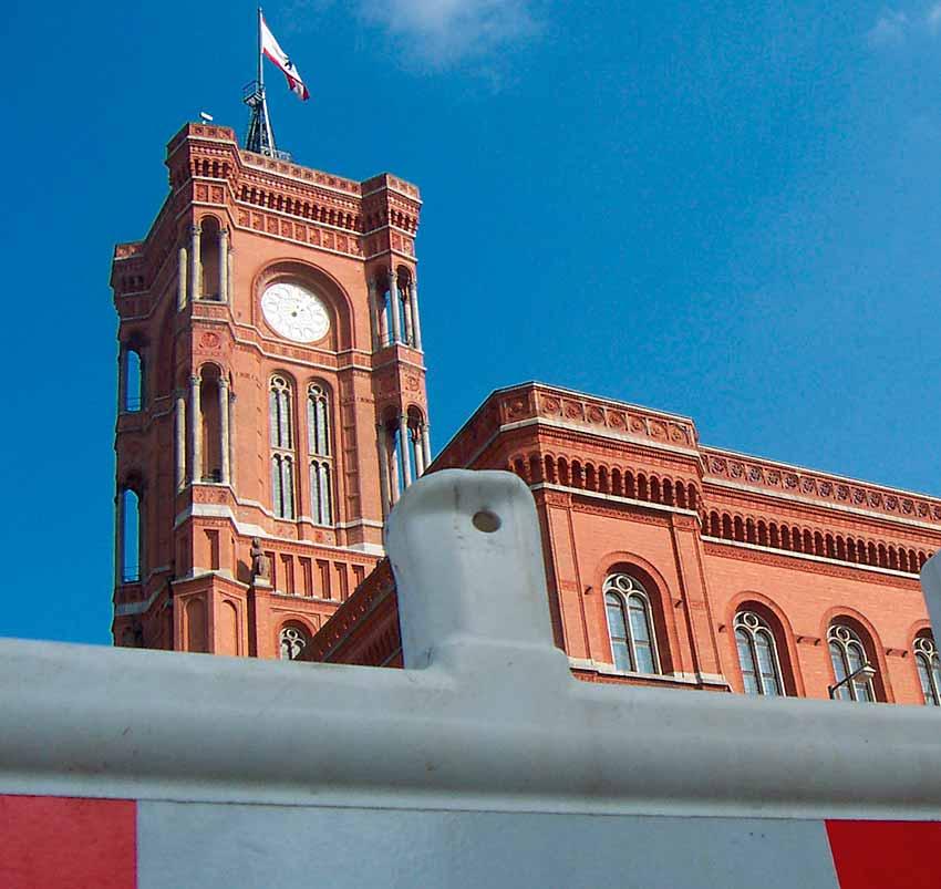 Landeskonferenz der Rektoren und Präsidenten der Berliner Hoschulen tagt im Roten Rathaus
