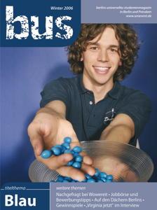 "Titelseite bus #4/2006 ""Blau"""