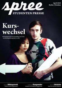 "Titelseite spree #2/2010 ""Kurswechsel"""