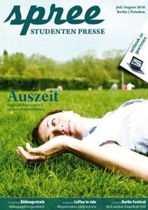 """Titelseite spree #4/2010 """"Auszeit"""""""