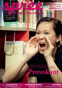 """Titelseite spree #1/2011 """"Provokant"""