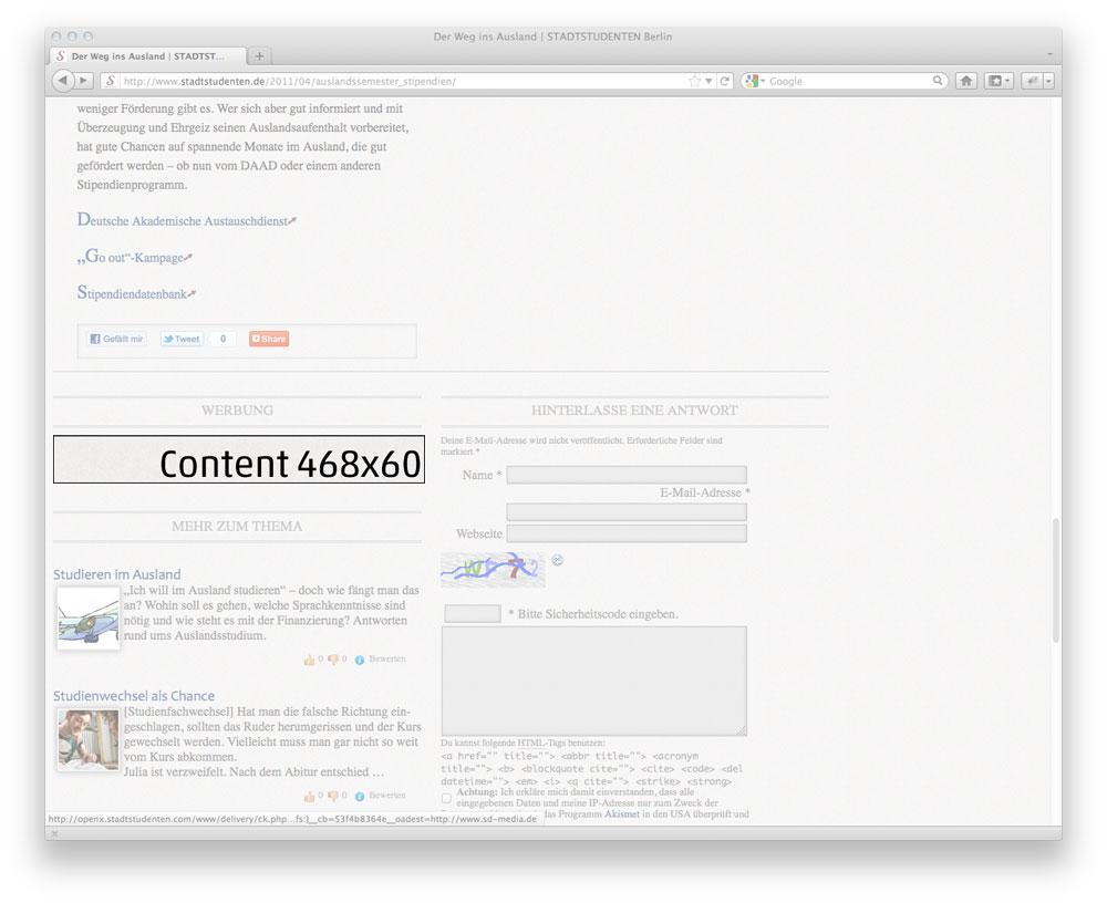 Screenshot Content