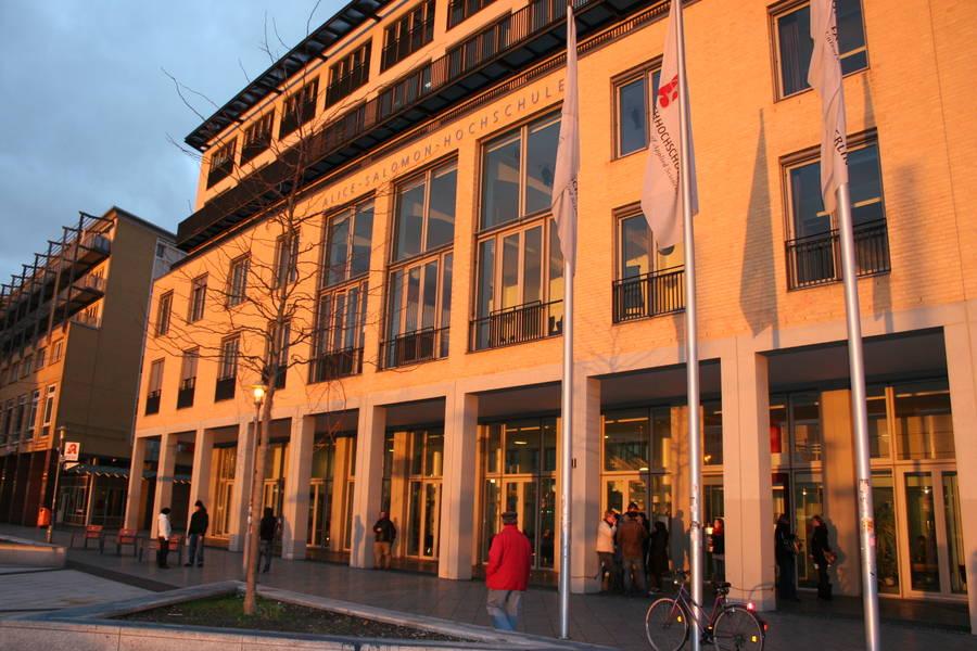 Gebäude der Alice Salomon Hochschule