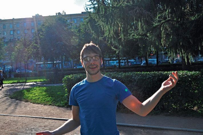 Die Reise hat erst begonnen. Auf unserer Website www.stadtstudenten.de schreibt Jan weiter über seine Erlebnisse, Erfahrungen und Beobachtungen aus Russland — Foto: Jan Lindenau