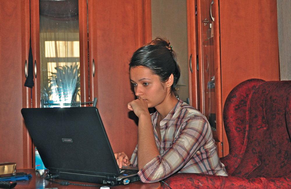 Ehrgeizig und strebsam, doch für uns ließ Anna ihre Arbeit liegen und zeigte uns ihr Petersburg. – Foto: Jan Lindenau