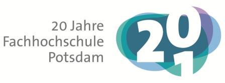 Das Logo der FH Potsdam.
