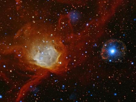 Bild:NASA/ CXC/ Universität Potsdam/ L. Oskinova et al.