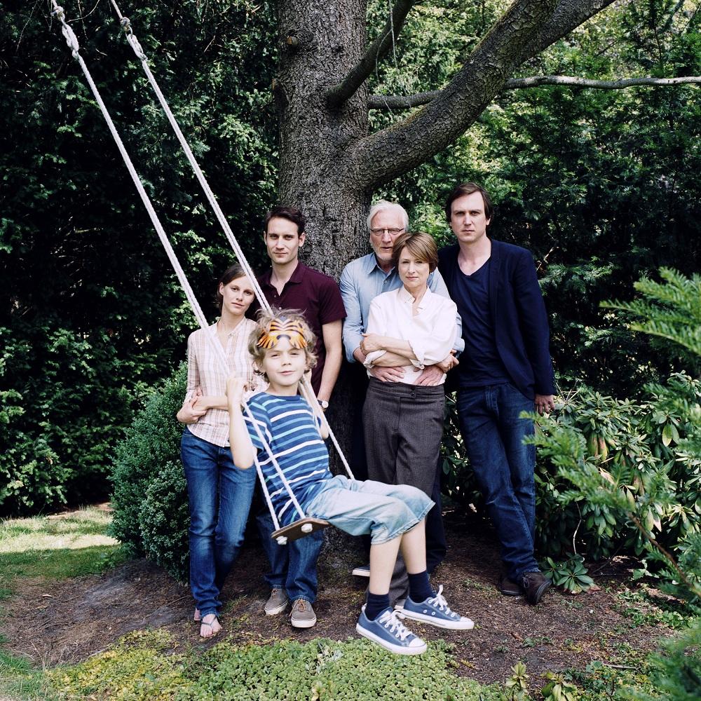 Gruppenfoto der Schauspieler des Films