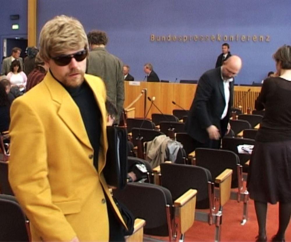 Thomas Kuban auf der Bundespressekonferenz