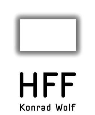 """Logo der Hochschule für Film und Fernsehen """"Konrad Wolf"""" in Potsdam"""