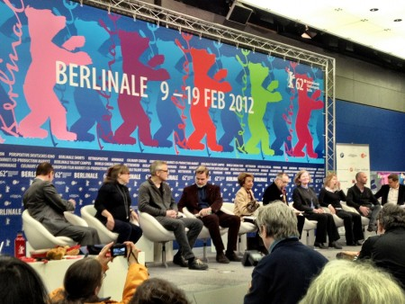 Sektionsleiter bei der Pressekonferenz der Berlinale 2012