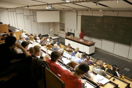 Hörsaal im Haus Grashof der Beuth Hochschule für Technik Berlin