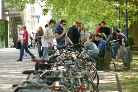 Campus der Beuth Hochschule Berlin