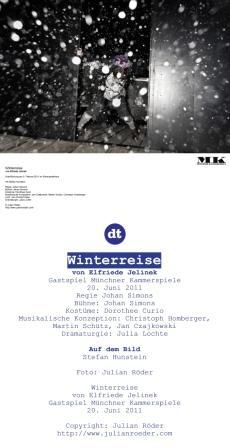 Winterreise am Deutschen Theater