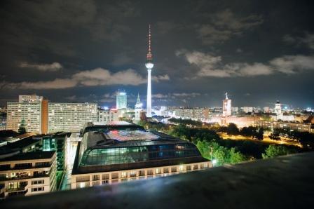 Berlin von oben (Foto: Sergej Horovitz)