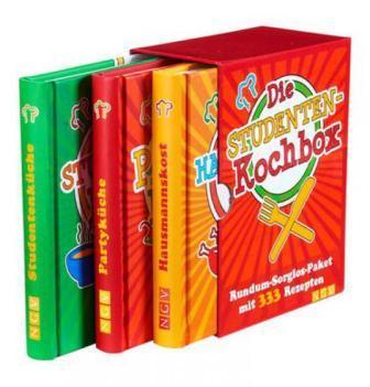 Die Studentenkochbox mit 333 Rezepten — Kochbuch für Studenten