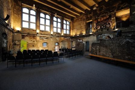 Hörsaalruine des Berliner Medizinihistorischen Museums der Charité (Foto: Franke)