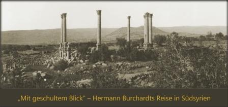 Ausstellung zu Hermann Borchardt (Foto: DAI Damaskus)