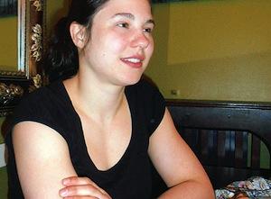 Laura Vargas Koch, Leistungssportlerin von der TU Berlin (Foto: Bettina Jungwirth)