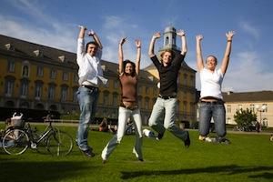 Studenten als Couchpotatos? (Foto: Barbara Frommann/ Uni Bonn)