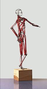 """""""Der Blick auf Anatomie, Gestalt und Körper durch die Kunst""""  in der Kunsthochschule Berlin Weißensee (Bild/Skulptur: Dietmar Spolert)"""