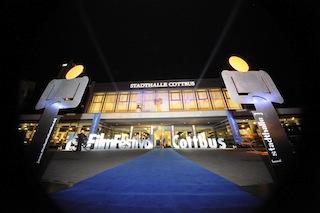 Stadthalle Cottbus und  Festivalzentrum des Festivals