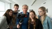 Studieren bei den Medienmachern an der EMBA: Dozenten aus der Praxis wie TV-Journalist und Professor Ruprecht Eser geben ihr Wissen weiter.