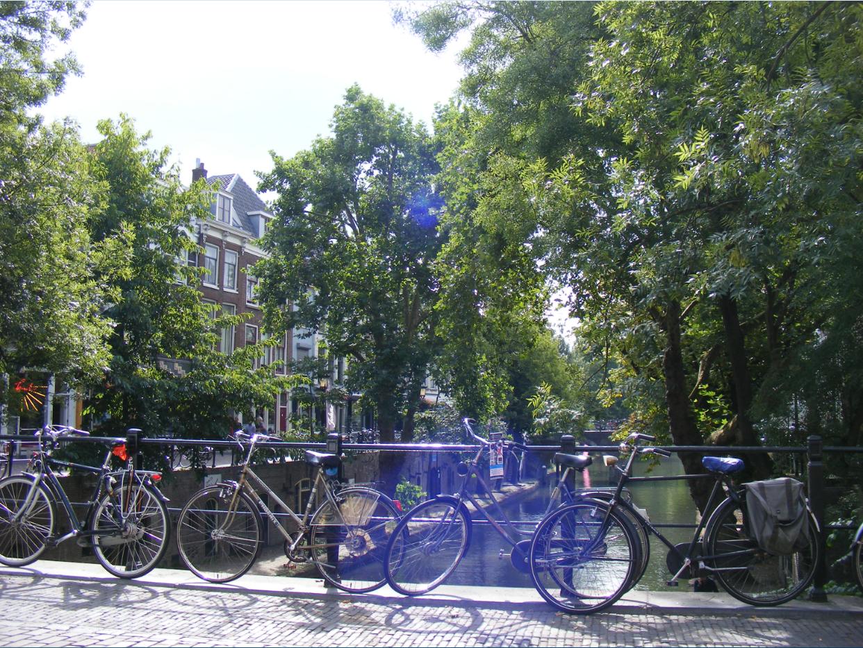 Bei einem Auslandsemester in Amsterdam darf ein Fahrrad nicht fehlen.