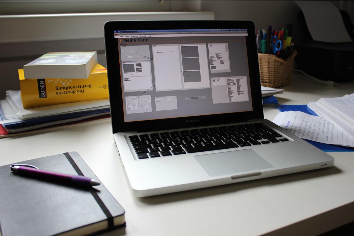 Das iMapping Programm sorgt für Übersicht im Studium.