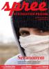 """Titelseite spree #1/2012 """"Sei anonym"""""""