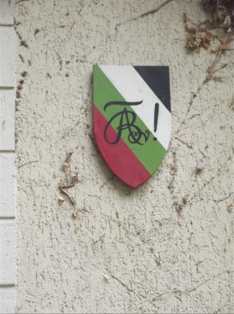 Dieses Wappen lernen alle Füxe malen