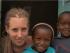 Isabel hat in Tansania acht Wochen lang Heimkinder unterrichtet und beim Bau eines Waisenhauses geholfen. © Volunation