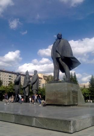 Die obligatorische Lenin-Statue. © Hannah Wagner