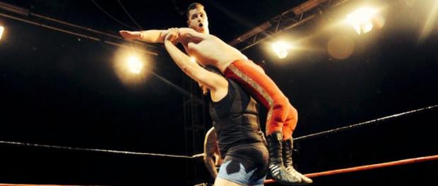 Jaroslav studiert Sportmanagement und ist Wrestler aus Leidenschaft © Anika Pricula