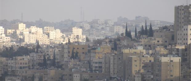 Die Hauptstadt Amman: Obwohl Jordanien Homosexualität nicht verbietet, werden Schwule von der Gesellschaft nicht akzeptiert. © Kirsten Jöhlinger