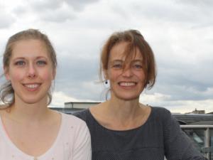Bildungsberaterinnen Laura Ritter und Regine Schenkenberger haben schon einigen Studierenden helfen können, die ihr Studium abbrechen wollten. © Miriam Nomanni