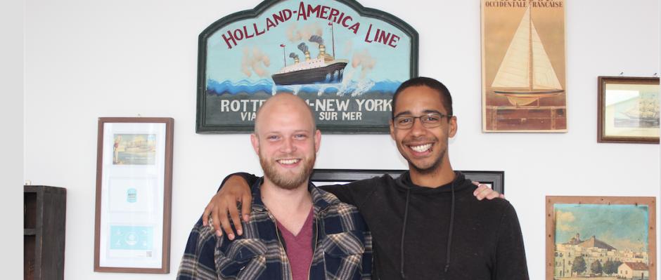 Rune (links) und David wollen ihr Start-Up Trunkbird in Berlin großmachen. © Kamila Zych