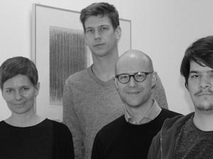 Das FILTER-Team v.l.: Prof. Andine Müller, Till Theissen, Prof. Dr. Lorenz Pöllmann und Timo Wolters - Foto: Kamila Zych